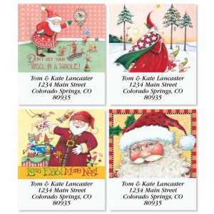 Saint Nick Select Christmas Address Labels (4 Designs)