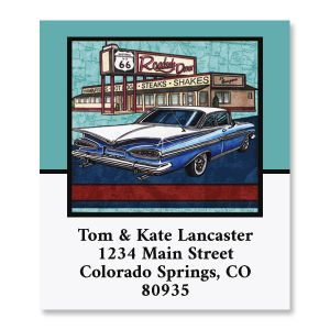 Route 66 Select Return Address Labels (8 Designs)