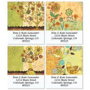 Gypsy Garden Select Return Address Labels (4 Designs)