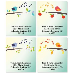 Sweet Tweets Select Return Address Labels (4 Designs)