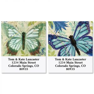 Butterfly Voyage Select Return Address Labels (2 Designs)