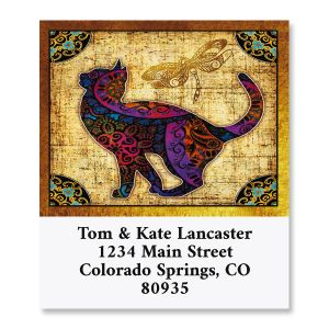 Cat Ambiance Select Return Address Labels (8 Designs)