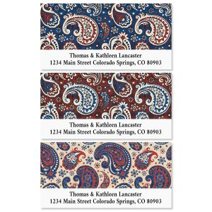 Western America Deluxe Return Address Labels (3 Designs)