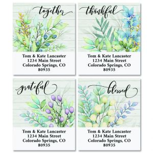 The Best Days Select Return Address Labels (4 Designs)