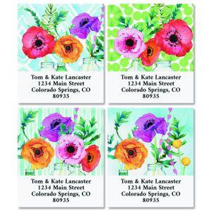 Spring Fling Select Return Address Labels (4 Designs)