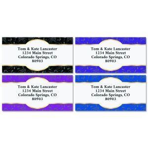 Exquisite Border Return Address Labels (4 Designs)