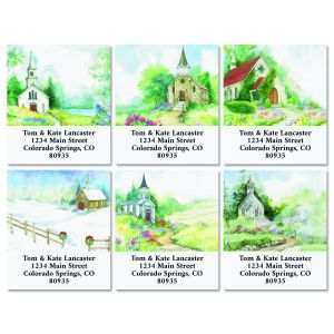 Faithful Seasons Select Return Address Labels (6 Designs)