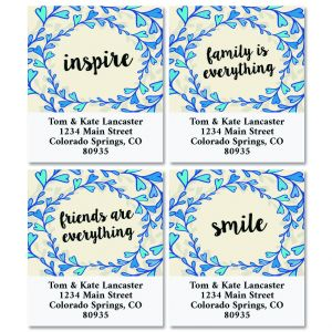 Loving Words Select Return Address Labels (4 Designs)