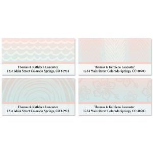 Tropical Escape Deluxe Address Labels