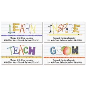 Teacher Deluxe Address Labels