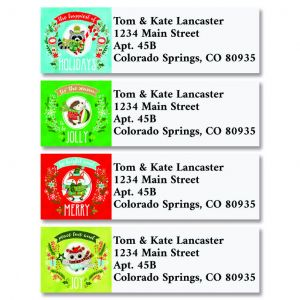 Mason Jar Classic Address Labels  (4 Designs)