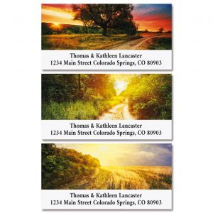 America's National Parks Deluxe Address Labels  (8 Designs)