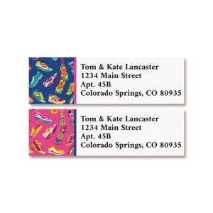 Tennis Shoes Classic Return Address Labels (2 Designs)