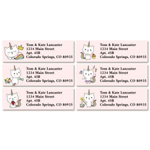 Kittycorn Classic Return Address Labels (6 Designs)