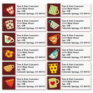 Coffee Break Classic Return Address Labels (12 Designs)