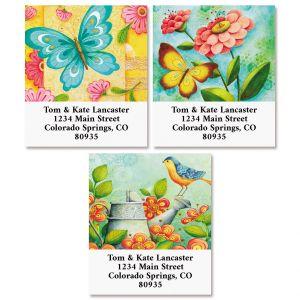 Garden Visit Select Address Labels (3 Designs)