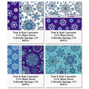 BOHO Fantasy Select Return Address Labels (4 Designs)