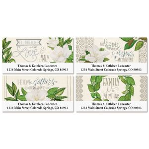 Bless This Home Deluxe Return Address Label (4 Designs)