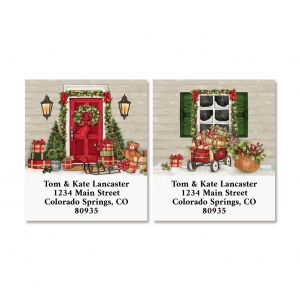 Farmhouse Select Return Address Labels (2 Designs)