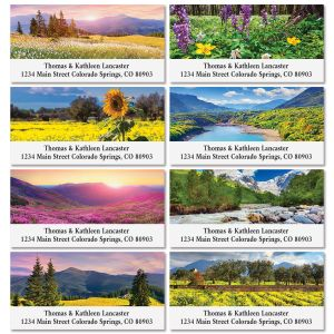 Summer Deluxe Return Address Labels (8 Designs)