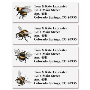 Bees Classic Return Address Labels (4 Designs)