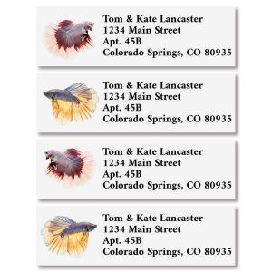 Fish Classic Return Address Labels (4 Designs)