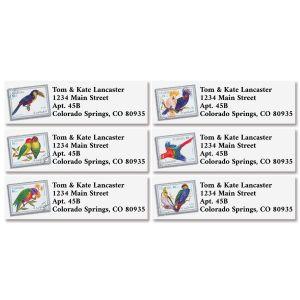 Bright Birds Classic Return Address Labels (6 Designs)
