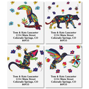 Mexican Flair Select Return Address Labels (4 Designs)