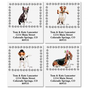 Best in Show Select Return Address Labels (4 Designs)
