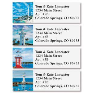 Light Houses Classic Return Address Labels (4 Designs)