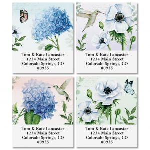 Blooming Blossoms Select Return Address Labels (4 Designs)