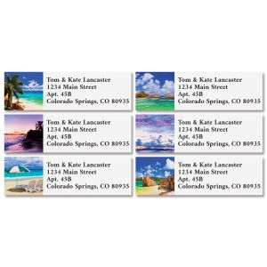 Vitamin Sea Classic Return Address Labels (6 Designs)