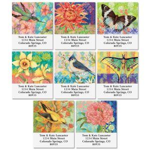 Bohemian Garden Select Return Address Labels (8 Designs)