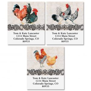 Chicken Coop Select Return Address Labels (3 Designs)