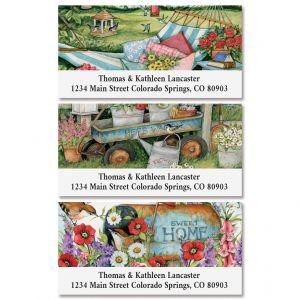 Garden Collection Deluxe Return Address Labels (3 Designs)