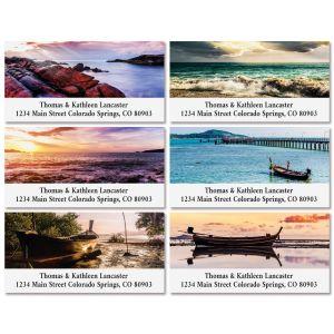 Tropical Twilight Deluxe Return Address Labels (6 Designs)