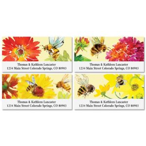 Busy Bee Deluxe Return Address Labels (4 Designs)