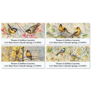 Feathered Nest Deluxe Return Address Labels (4 Designs)