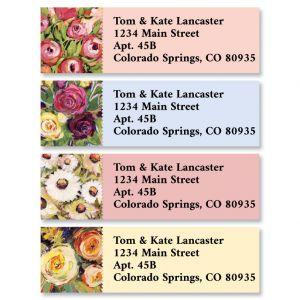 Floral Painting Classic Return Address Labels (4 Designs)