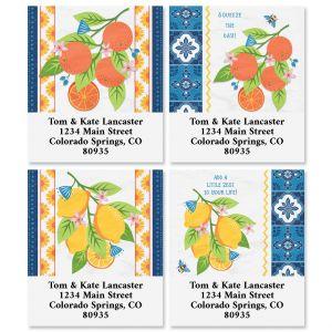 Hacienda Citrus Select Return Address Labels (4 Designs)
