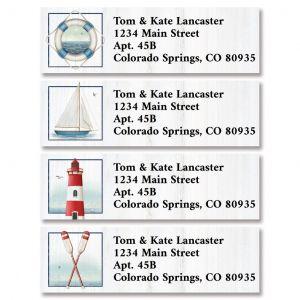 Yacht Club Classic Return Address Labels (4 Designs)