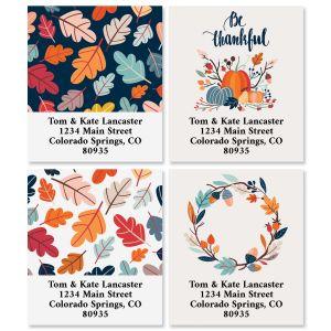Be Thankful Select Return Address Labels (4 Designs)