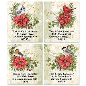 Winter Medley Select Return Address Labels (4 Designs)