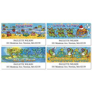 Seas-in-Greetings Deluxe Address Labels  (4 Designs)