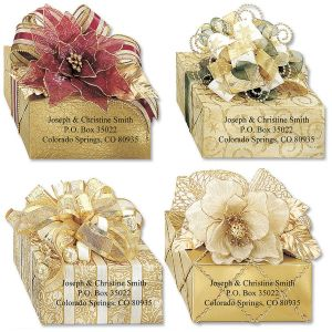 Wrapped In Radiance  Diecut Address Labels  (4 Designs)