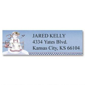 Sandi's Country Characters Classic Address Labels  (12 Designs)