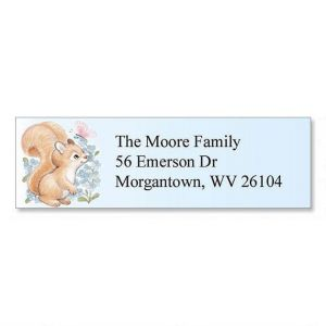Baby Animals Classic Address Labels  (6 Designs)