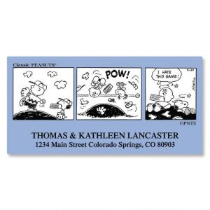 PEANUTS® Chronicles Super  Deluxe Address Labels  (8 Designs)