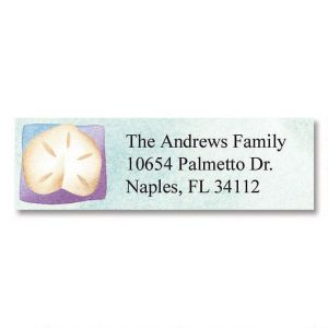 Shades of the Sea Classic Address Labels  (6 Designs)