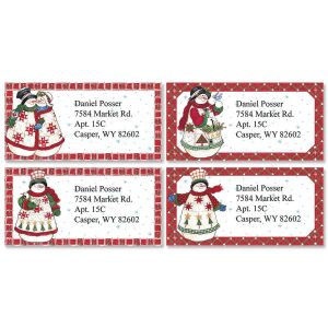 Sandi's Bundled Buddies Border Address Labels  (4 Designs)